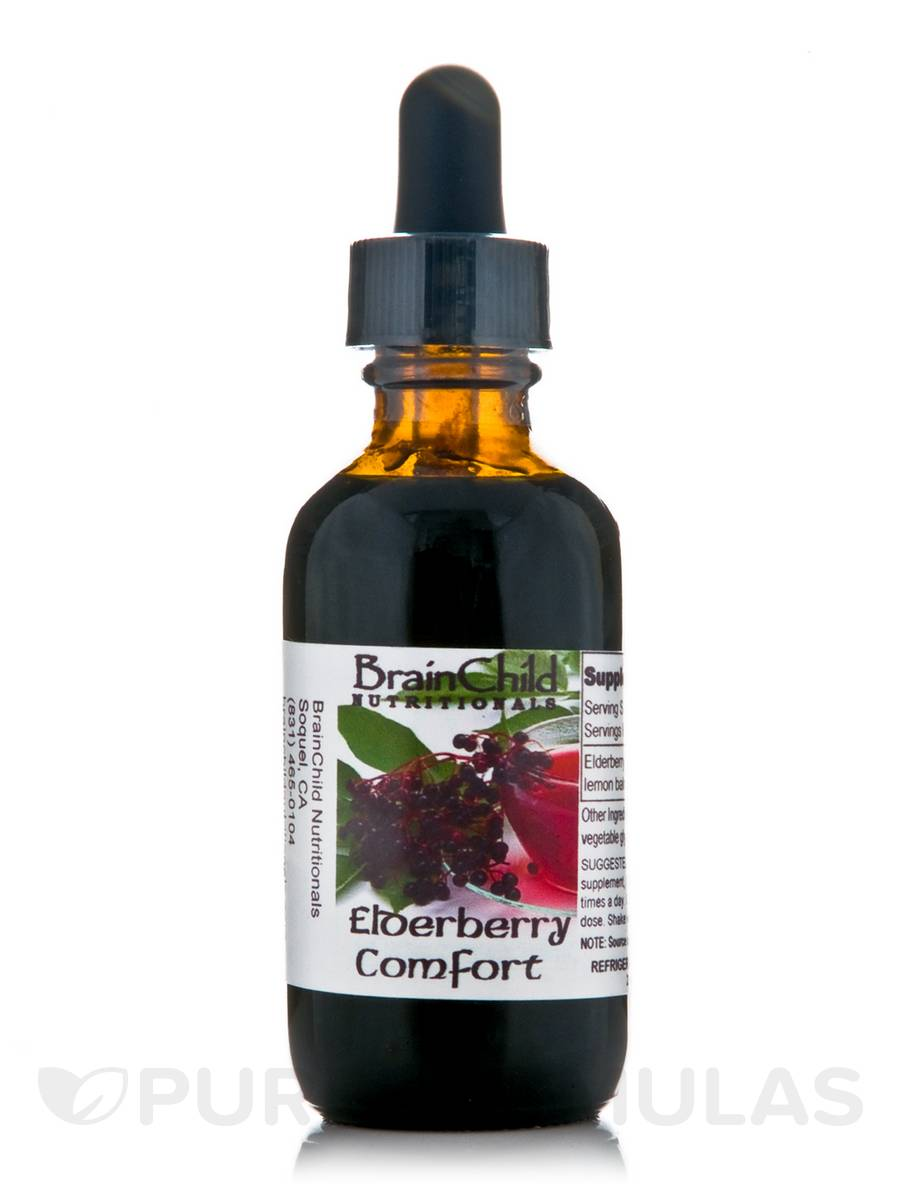 Elderberry Comfort - 2 oz (60 ml)