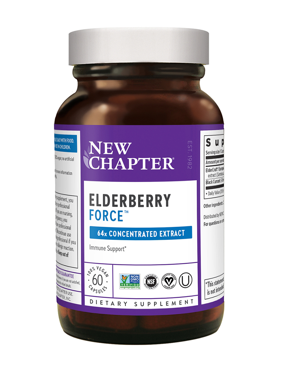 Elderberry Force™ - 60 Vegan Capsules