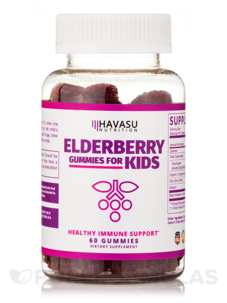 Elderberry Gummies for Kids - 60 Gummies