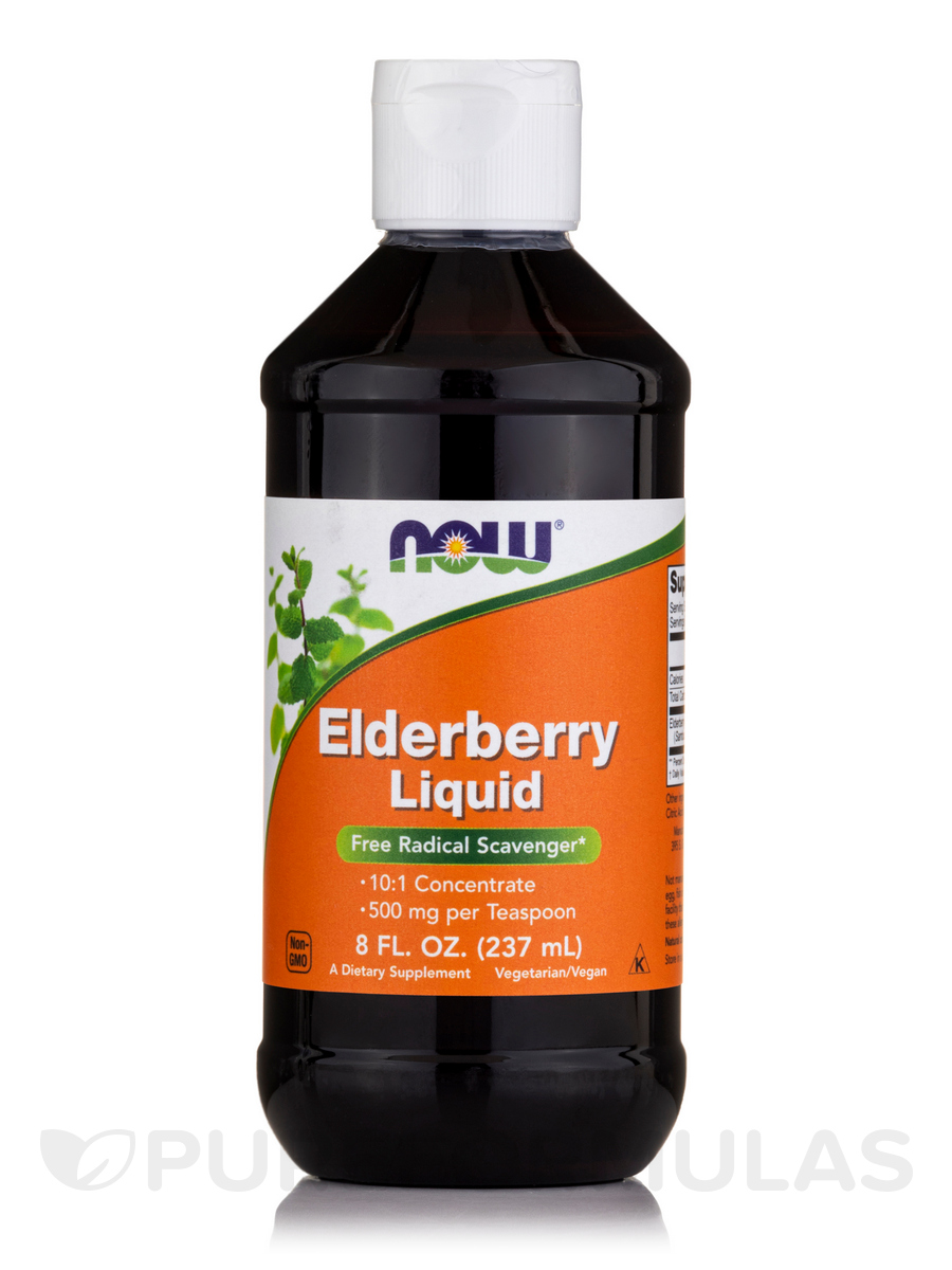 Elderberry Liquid - 8 fl. oz (237 ml)