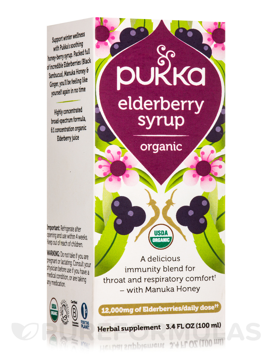 Elderberry Syrup - 3.4 fl. oz (100 ml)