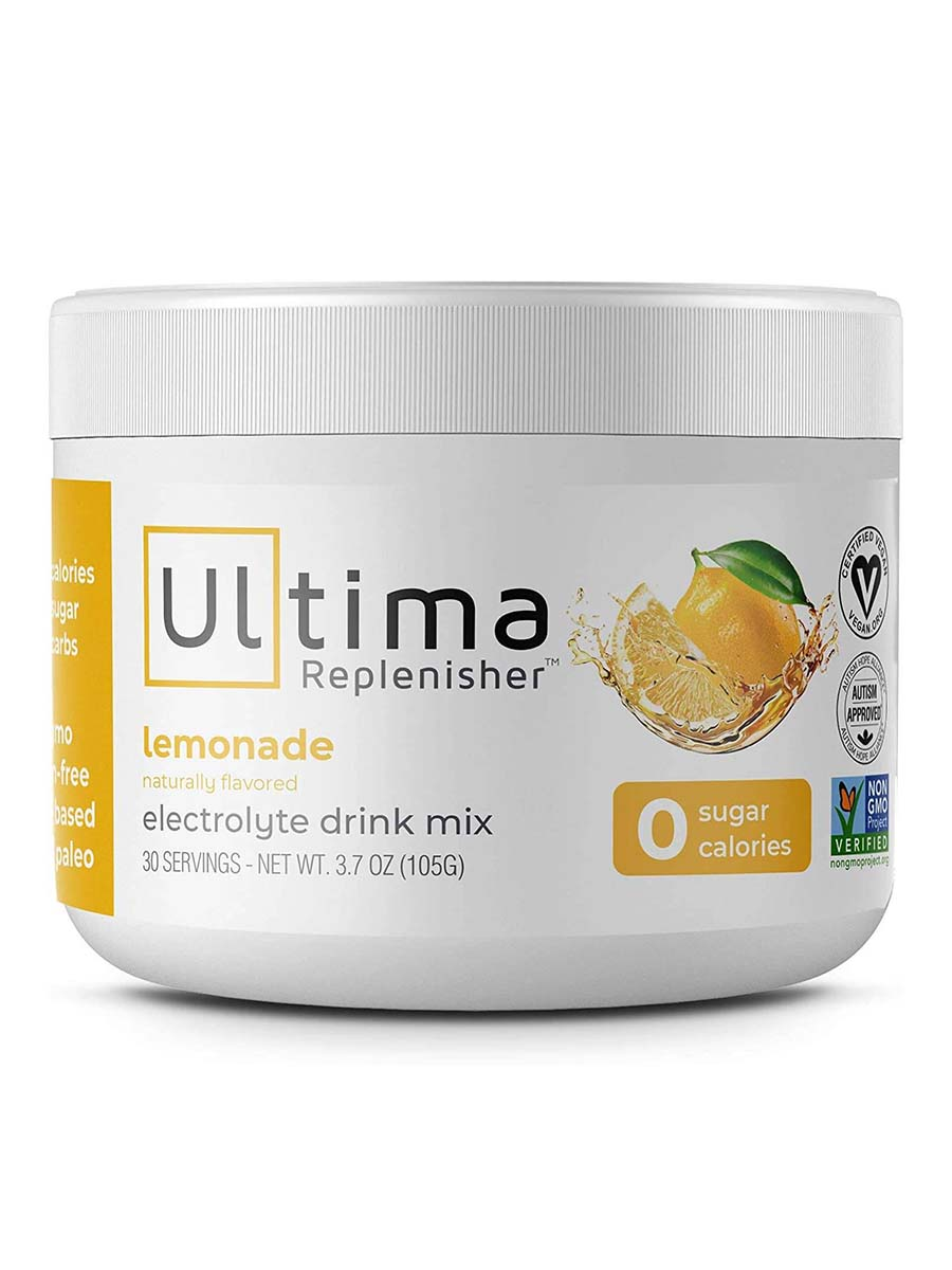 Electrolyte Hydration Powder, Lemonade Flavor - 30 Servings (3.7 oz / 105 Grams)