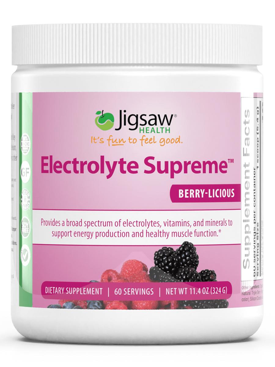 Electrolyte Supreme™ Berry-Licious Powder - 11.4 oz (324 Grams)
