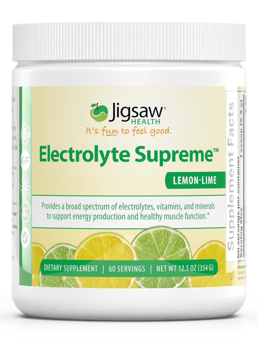 Electrolyte Supreme™ Lemon Lime Powder - 12.5 oz (354 Grams)
