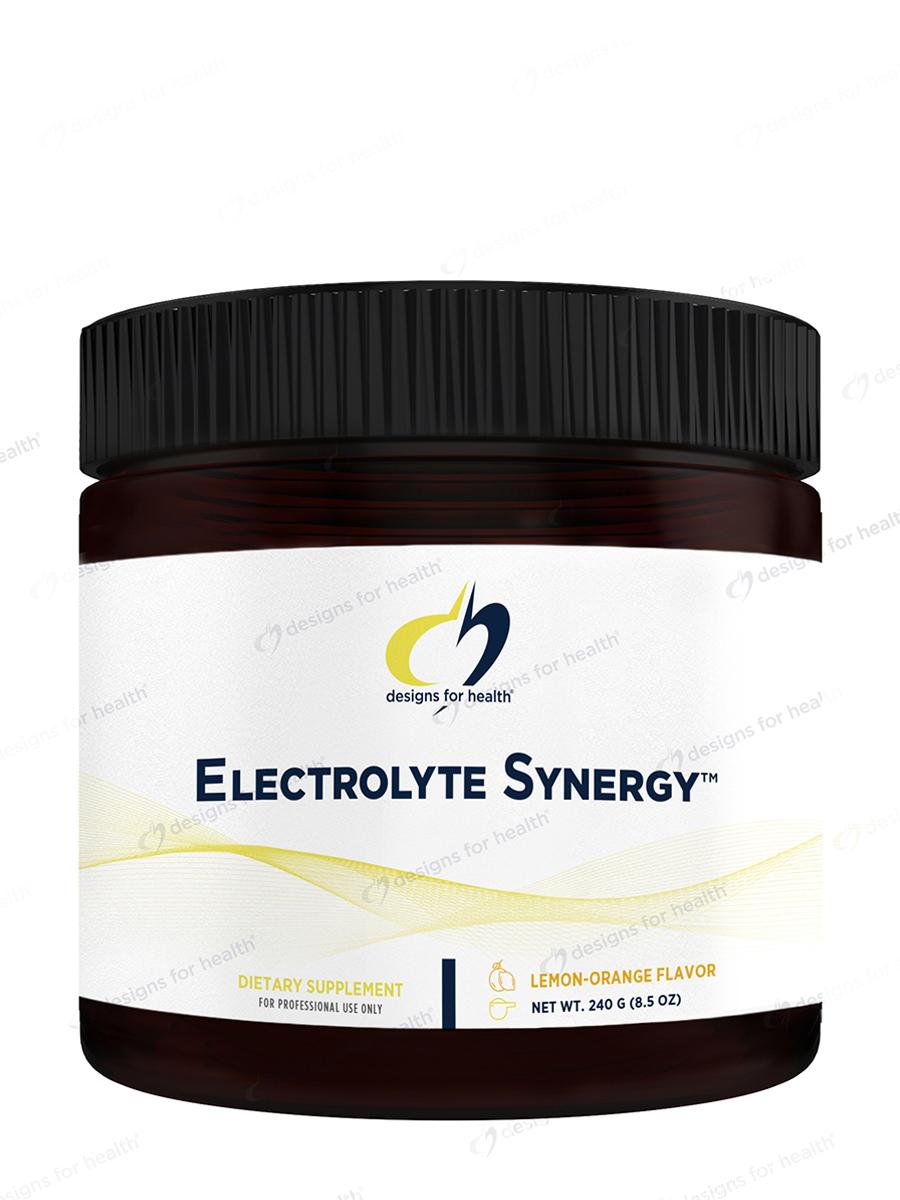 Electrolyte Synergy™, Lemon Orange Flavor - 8.5 oz (240 Grams)