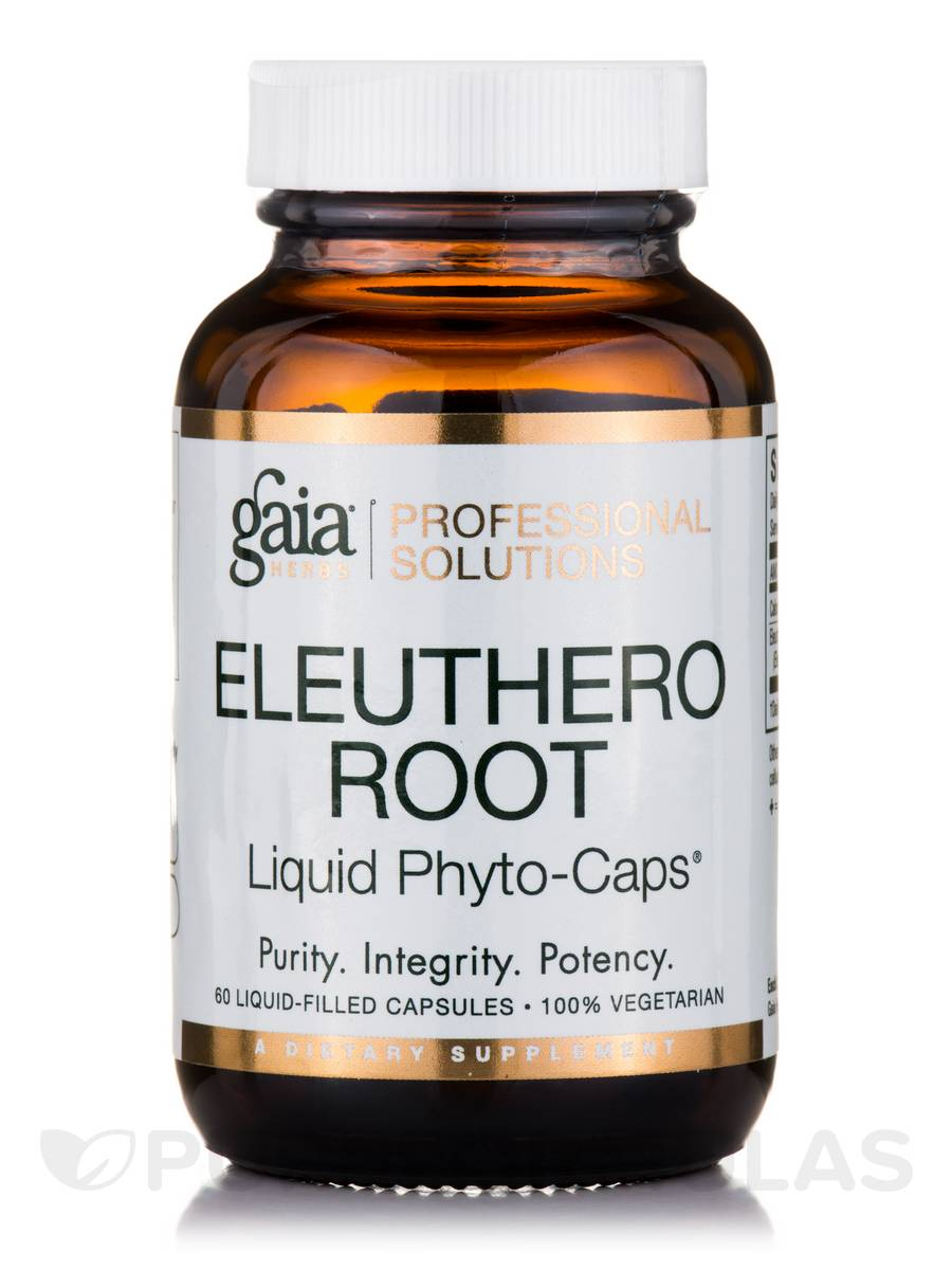 Eleuthero Root - 60 Vegetarian Liquid-Filled Capsules