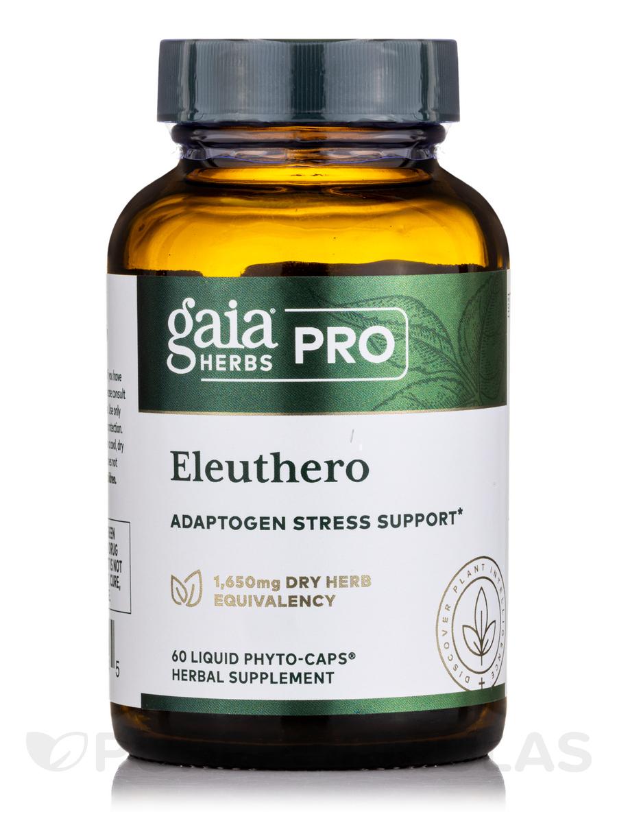 Eleuthero Root - 60 Liquid-Filled Capsules