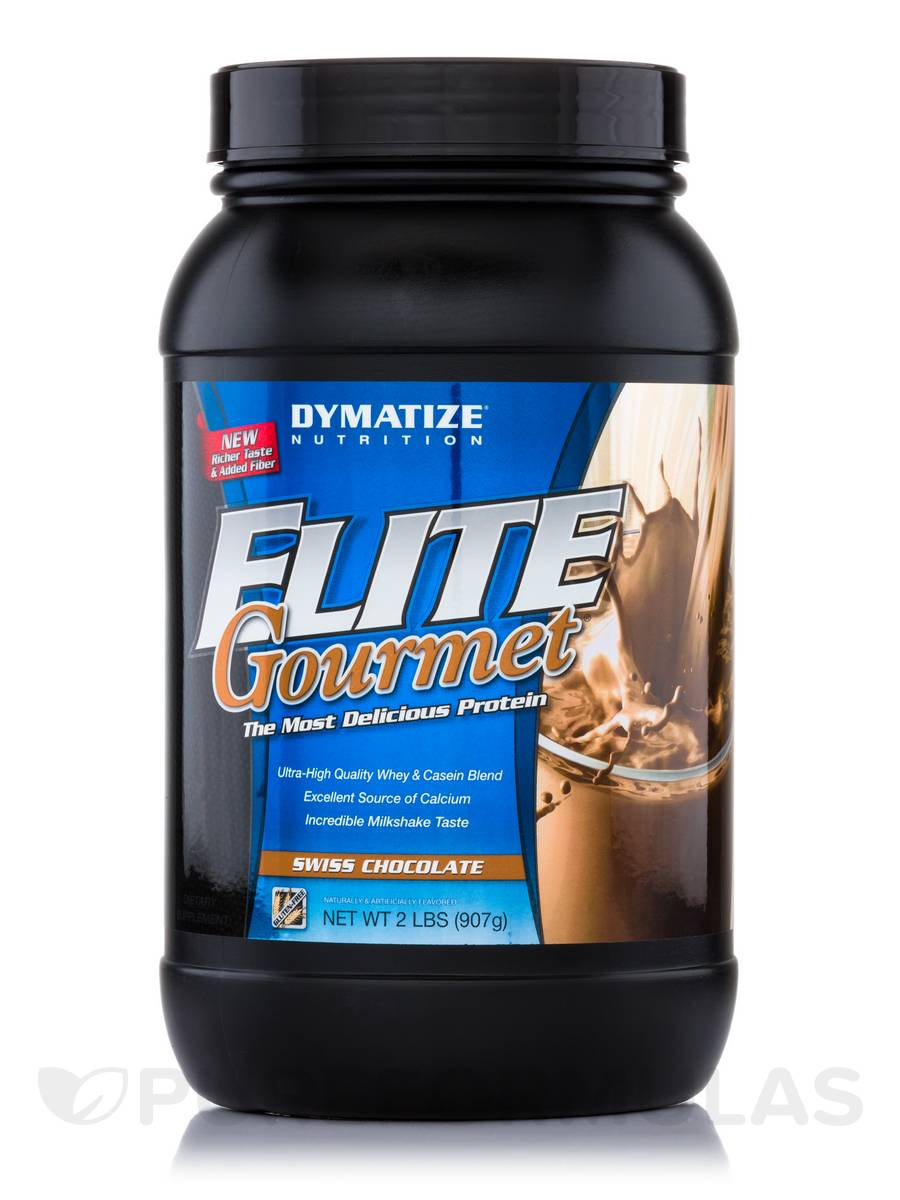 Elite Gourmet Protein Swiss Chocolate - 2 lbs (907 Grams)