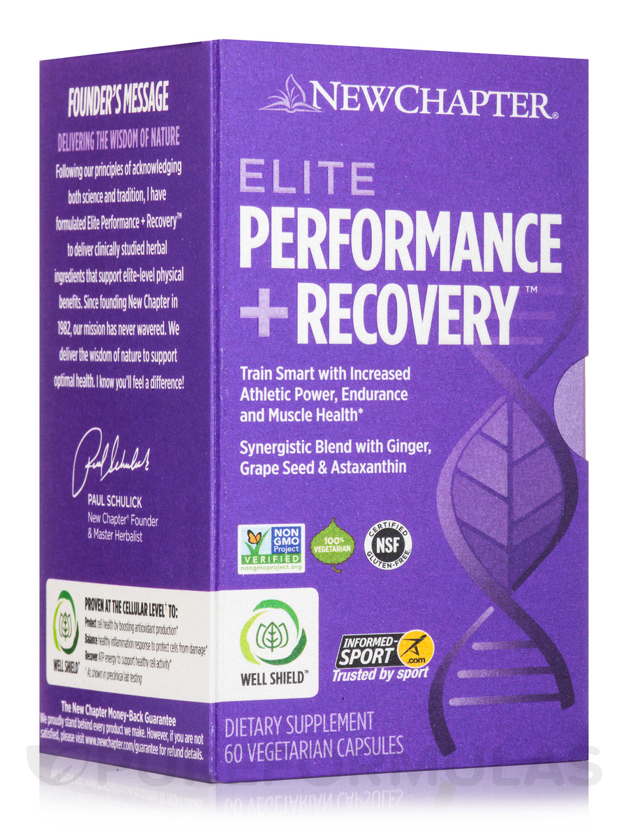 Elite Performance + Recovery - 60 Vegetarian Capsules