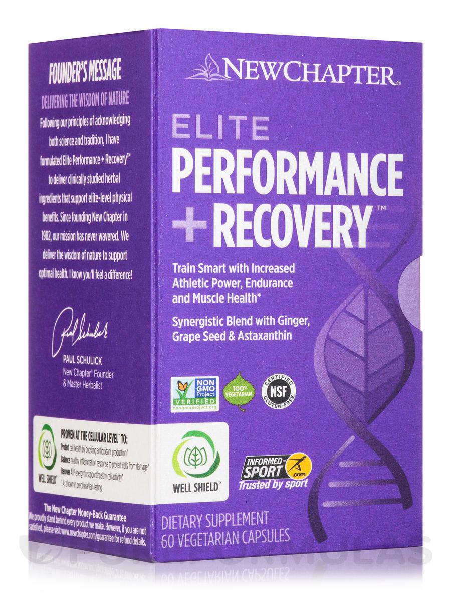 Elite Performance + Recovery - 60 Vegetarian Capsules
