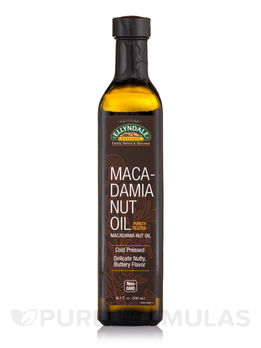 Ellyndale Foods® Extra Virgin Macadamia Nut Oil - 16.9 fl. oz (500 ml)