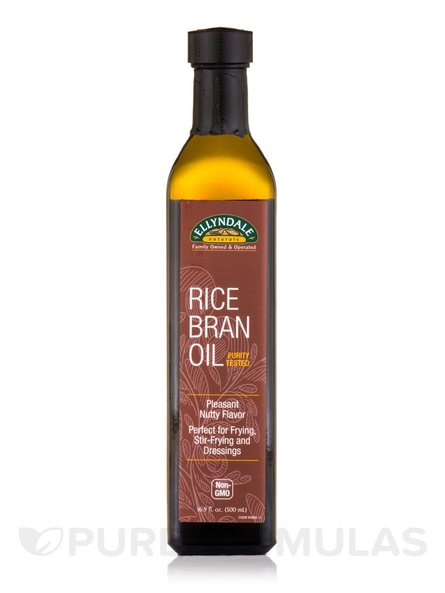 Ellyndale Foods® Rice Bran Oil - 16.9 fl. oz (500 ml)