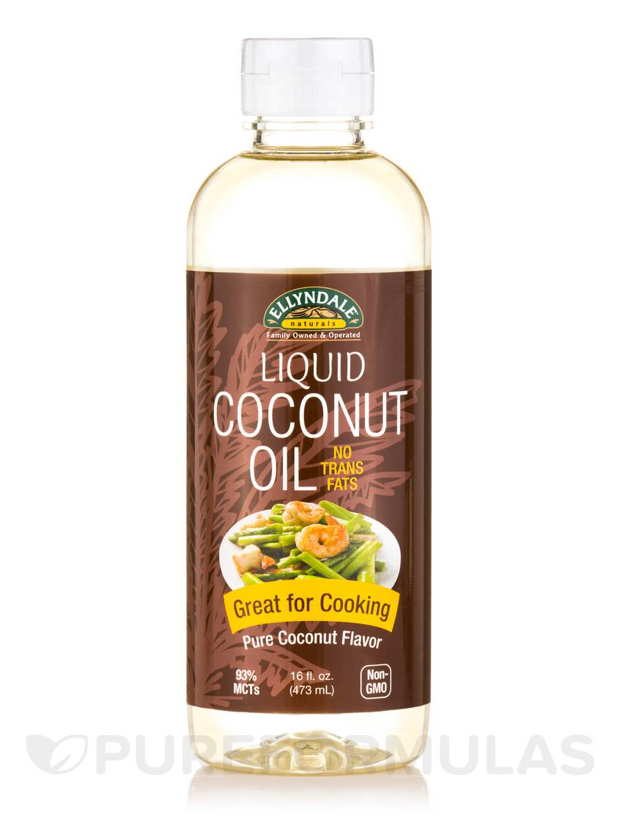 Ellyndale Naturals® Liquid Coconut Oil - 16 fl. oz (473 ml)