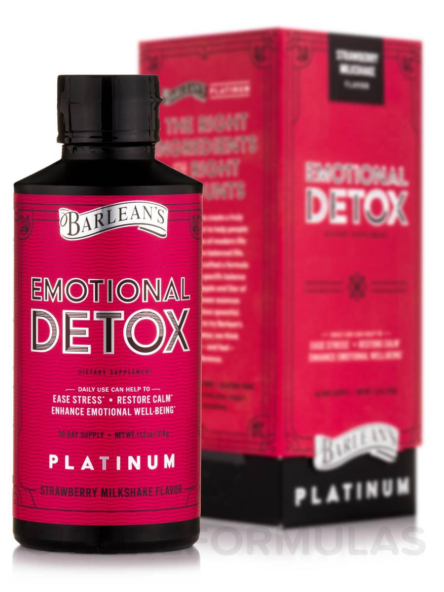 Emotional Detox, Strawberry Milkshake Flavor - 11.2 oz (318 Grams)