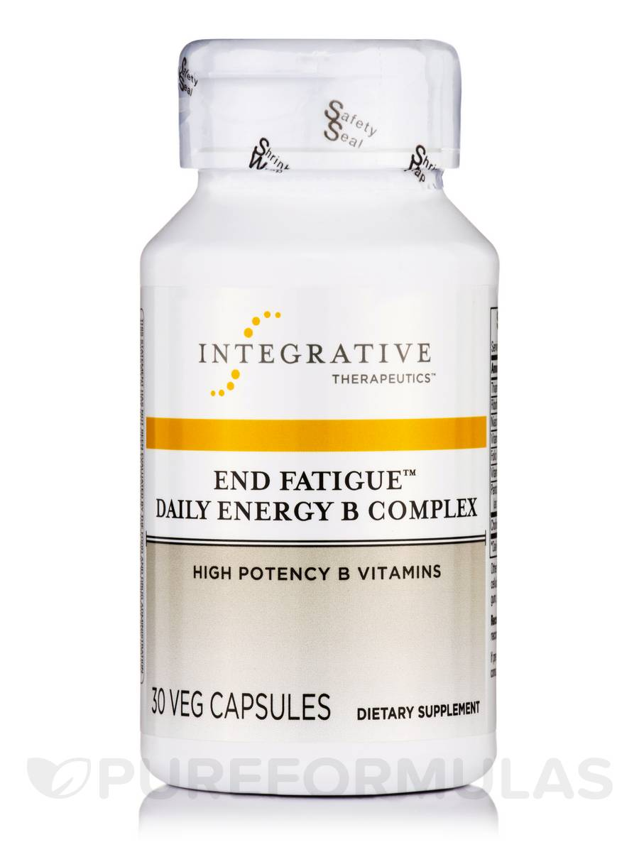 End Fatigue Daily Energy B Complex - 30 Ultra Capsules