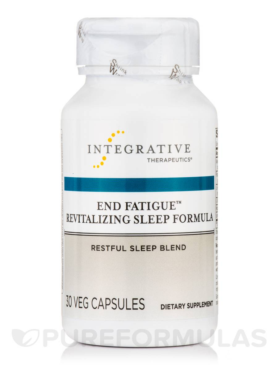 End Fatigue™ Revitalizing Sleep Formula - 30 Veg Capsules
