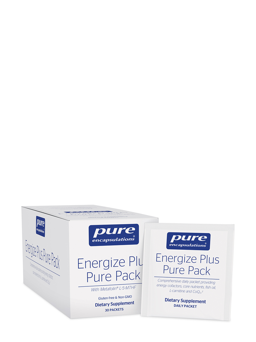 Energize Plus Pure Pack with Metafolin® L-5-MTHF - 30 Packets