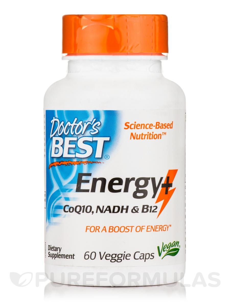 Energy+ CoQ10, NADH & B12 - 60 Veggie Capsules