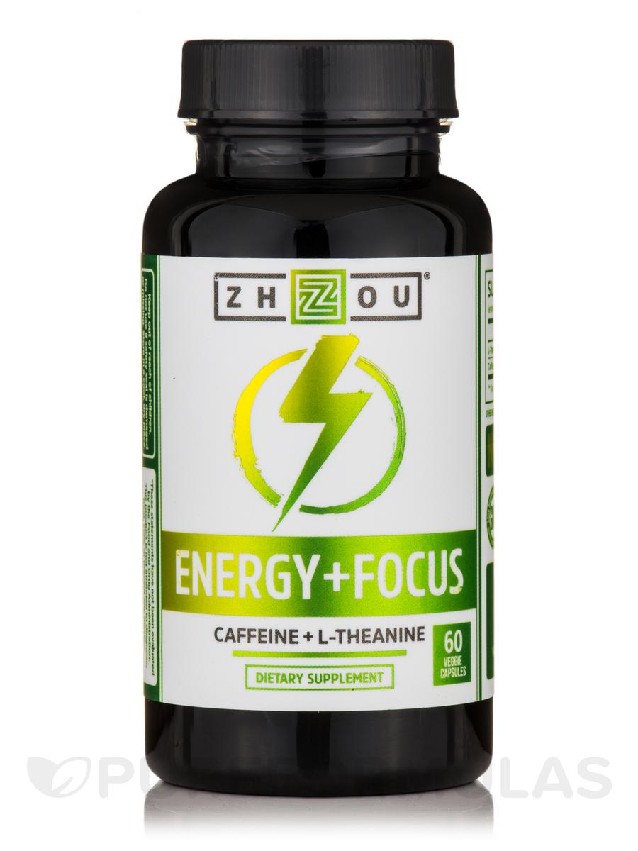 Energy + Focus - 60 Veggie Capsules