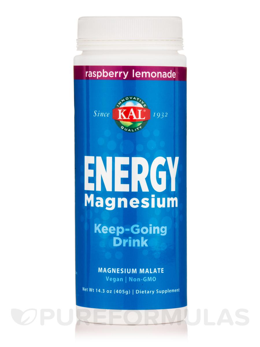 Energy Magnesium, Raspberry Lemonade - 14.3 oz (405 Grams)