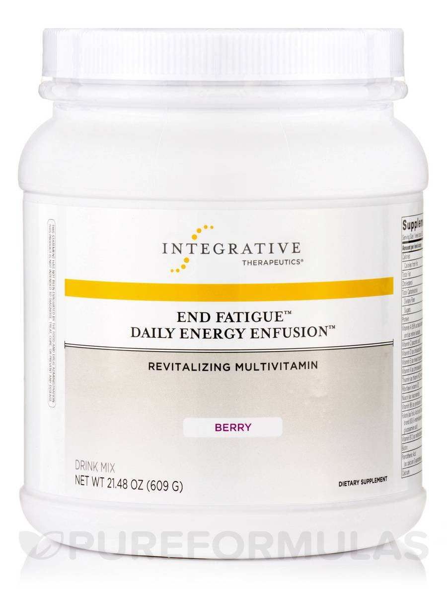 End Fatigue™ Daily Energy Enfusion™, Berry Flavor - 21.48 oz (609 Grams)