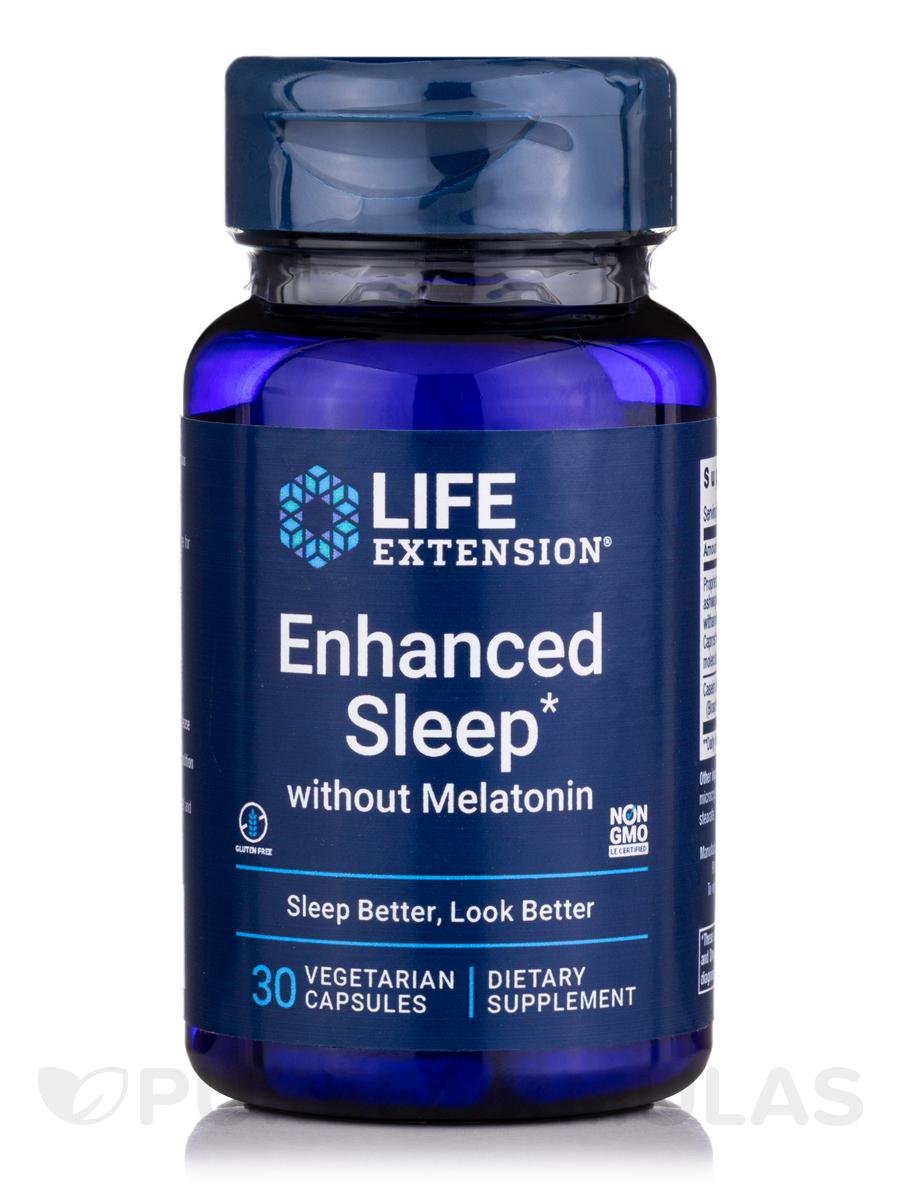 Enhanced Natural Sleep w/o Melatonin - 30 Capules