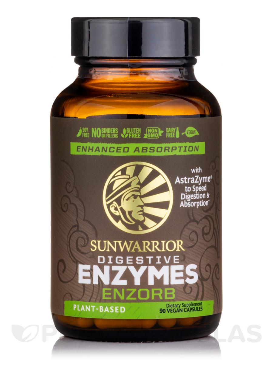 EnZorb (Plant-Based Digestive Enzymes) - 90 Vegan Capsules