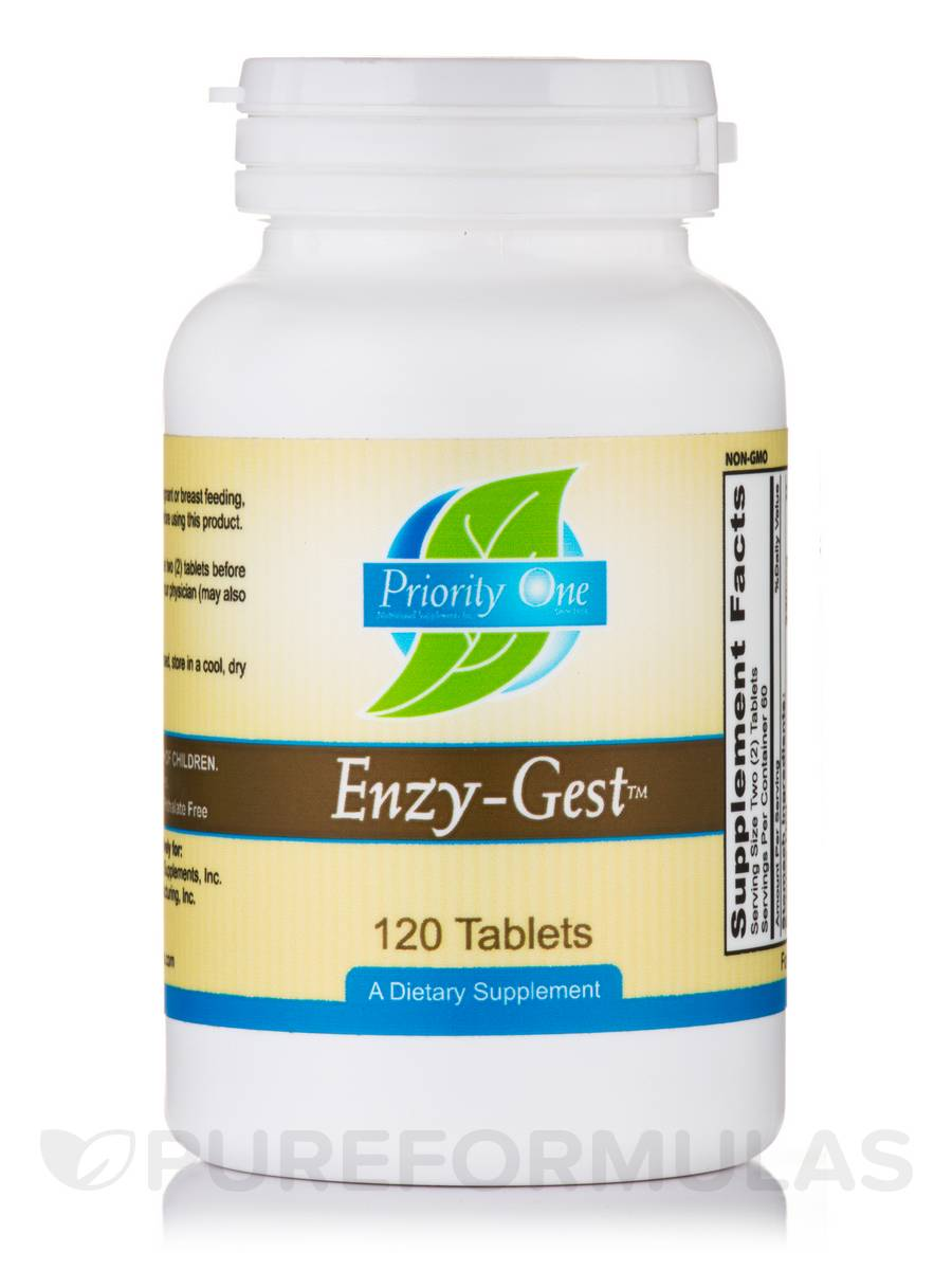 Enzy-Gest™ - 120 Tablets