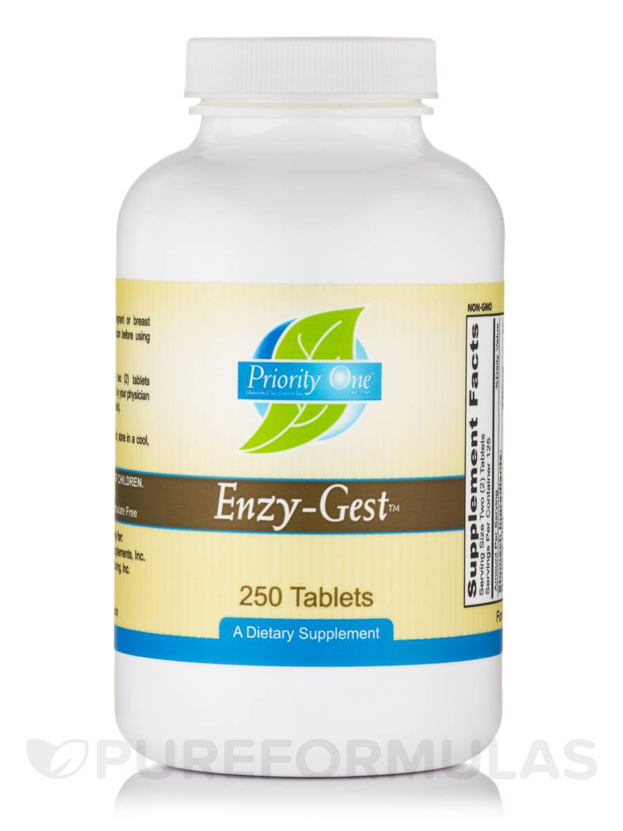 Enzy-Gest™ - 250 Tablets