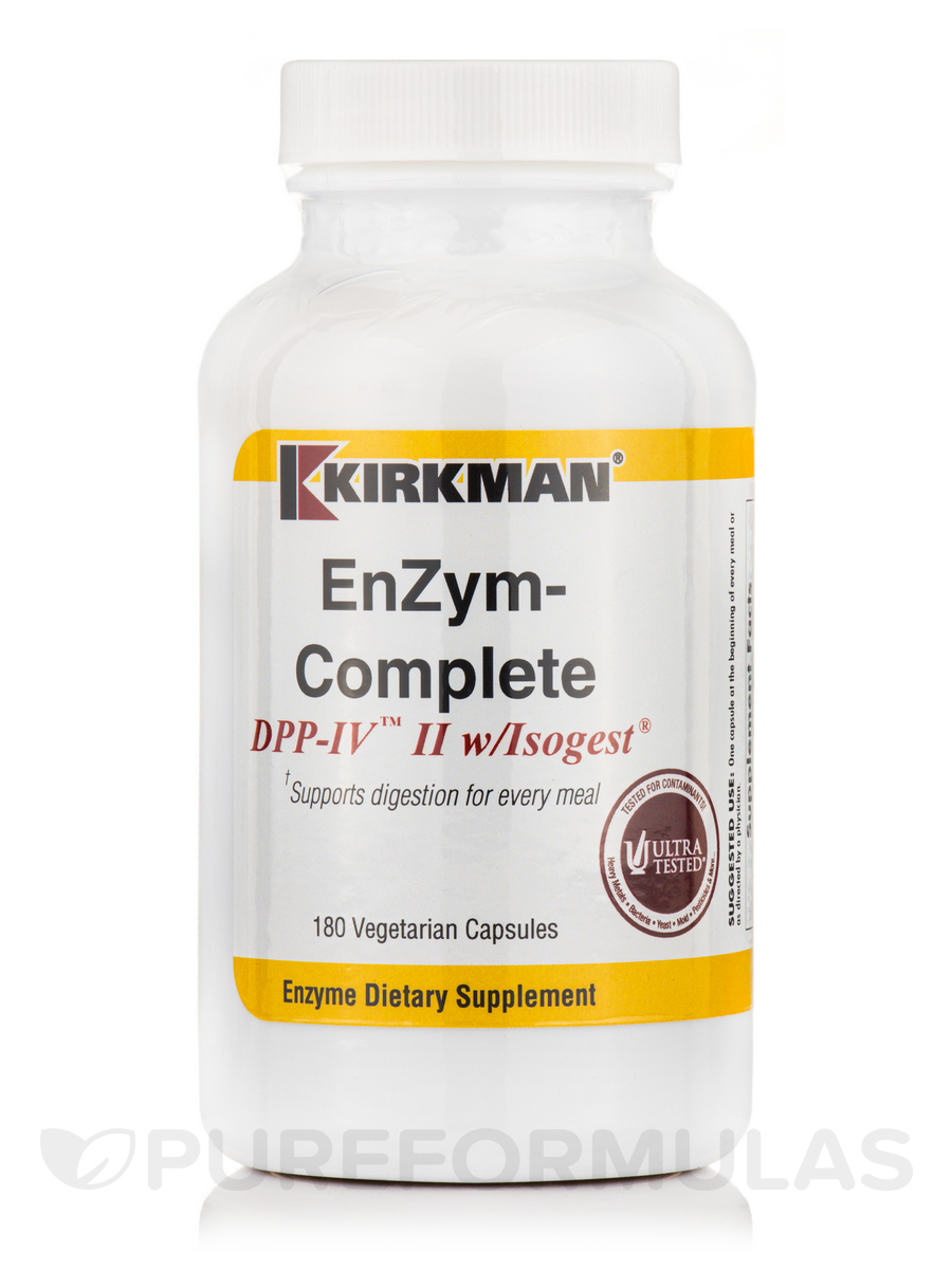 EnZym-Complete/DPP-IV™ II with Isogest® - 180 Capsules