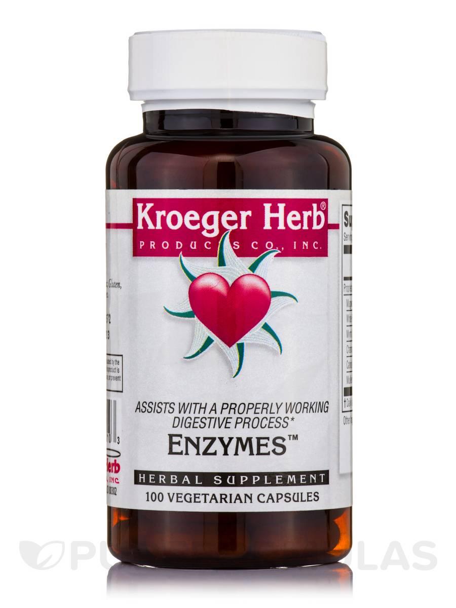 Enzymes - 100 Vegetarian Capsules