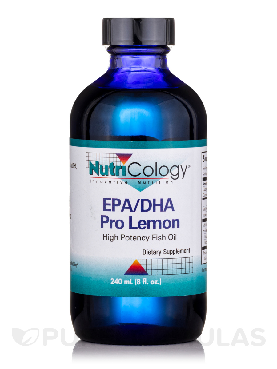 EPA/DHA Pro, Lemon - 8 fl. oz (240 ml)
