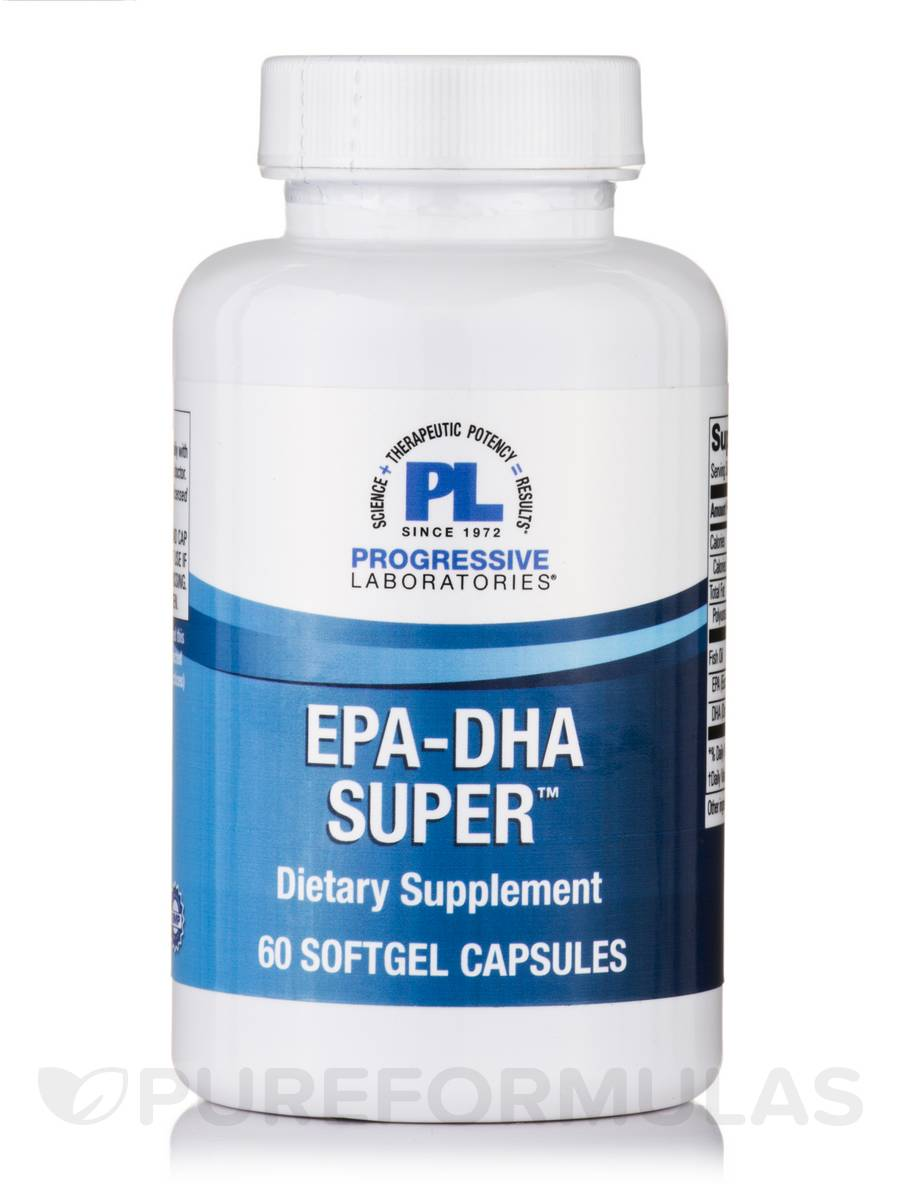 EPA-DHA Super - 60 Softgels Capsules