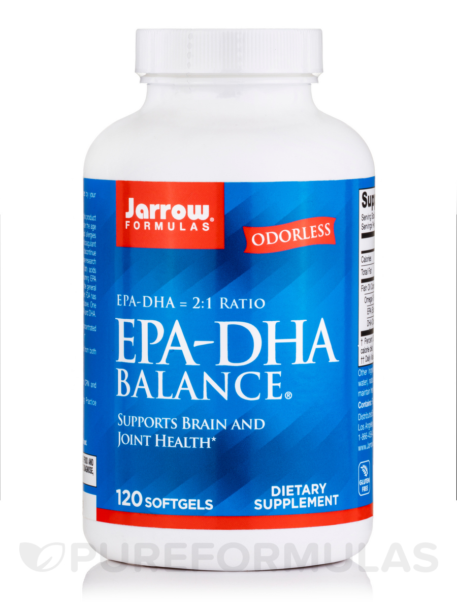 EPA-DHA Balance 600 mg - 120 Softgels