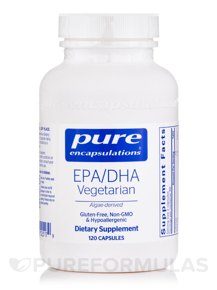 EPA/DHA Vegetarian - 120 Caplique® Capsules