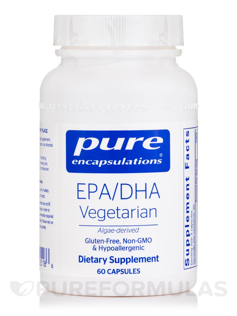 EPA/DHA Vegetarian - 60 Caplique® Capsules