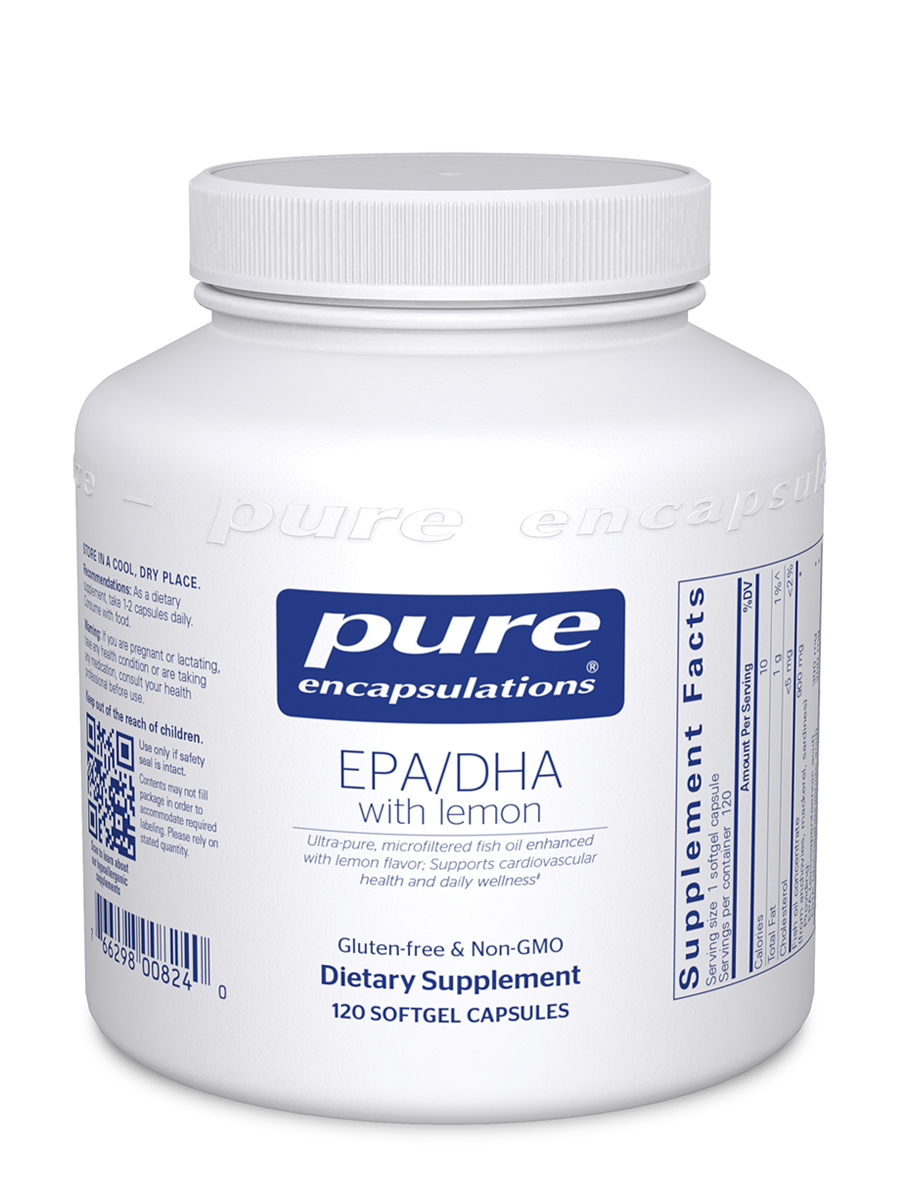 EPA/DHA with Lemon - 120 Softgels Capsules