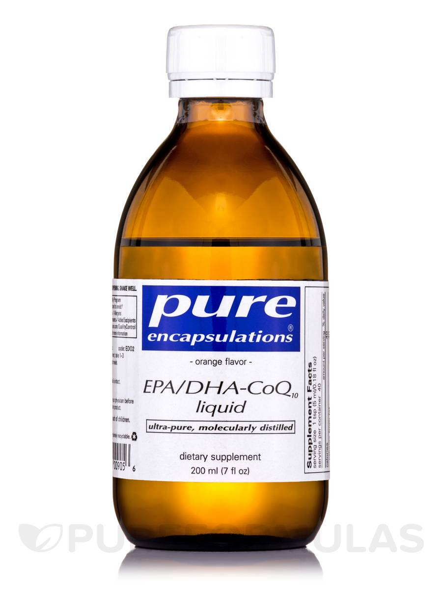 EPA/DHA-CoQ10 Liquid (orange) - 7 fl. oz (200 ml)