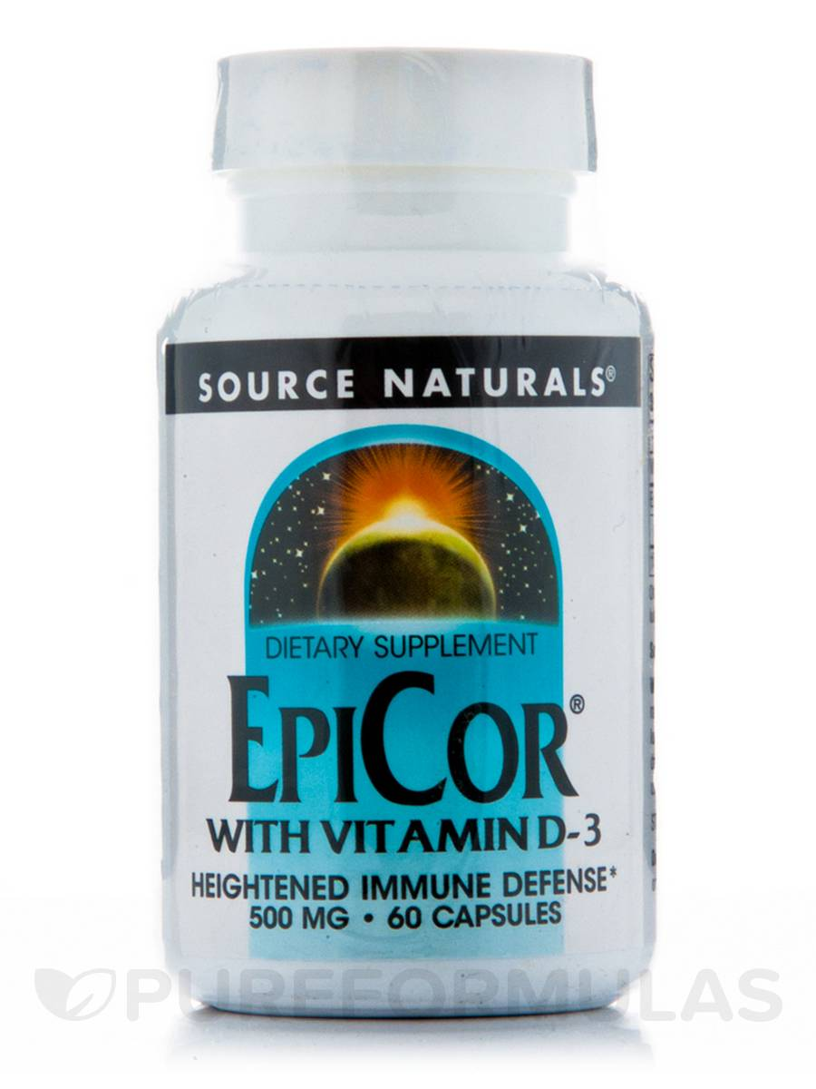 EpiCor® with Vitamin D-3 - 60 Capsules