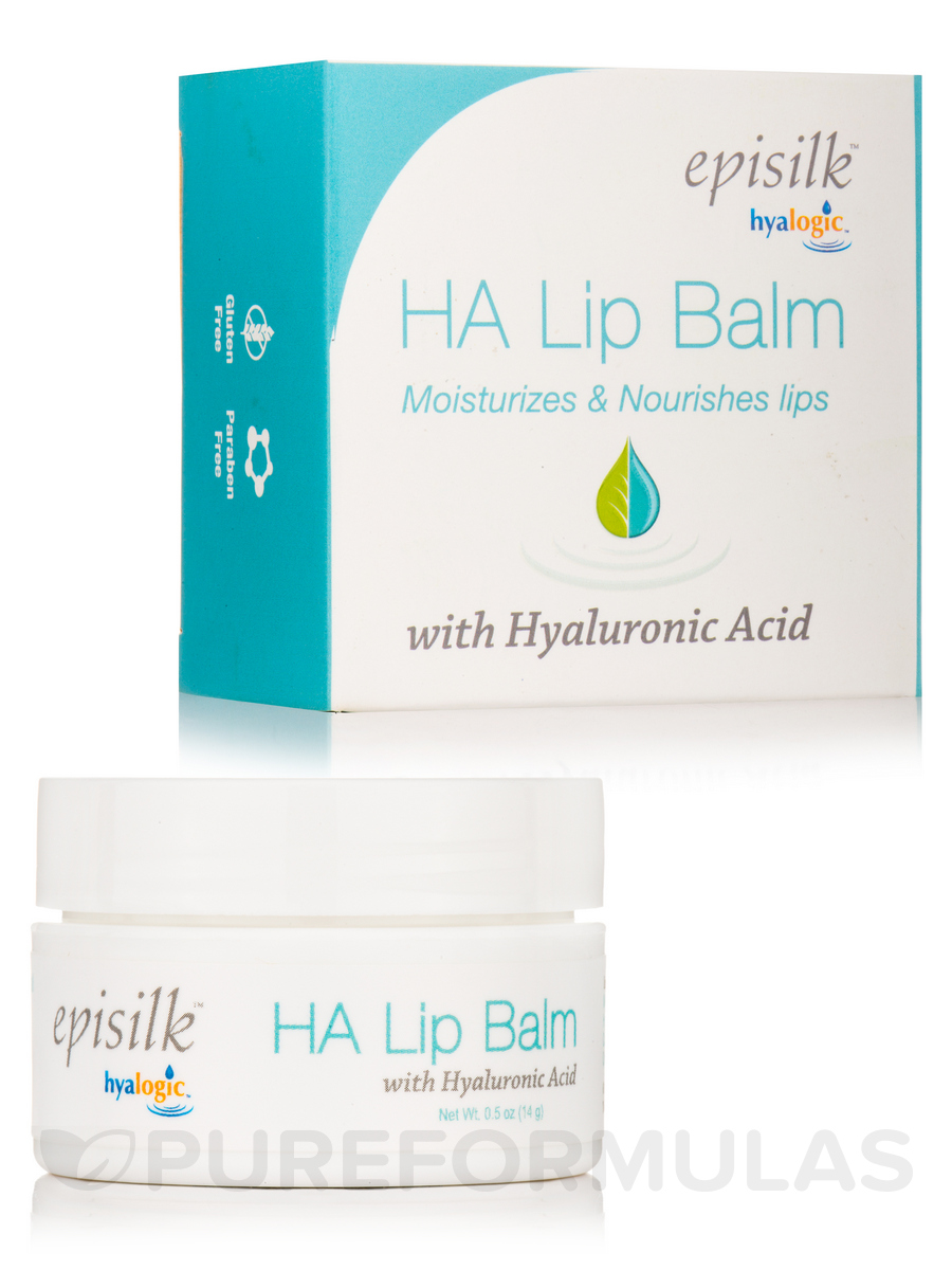 Episilk HA Lip Balm with Hyaluronic Acid - 0.5 oz