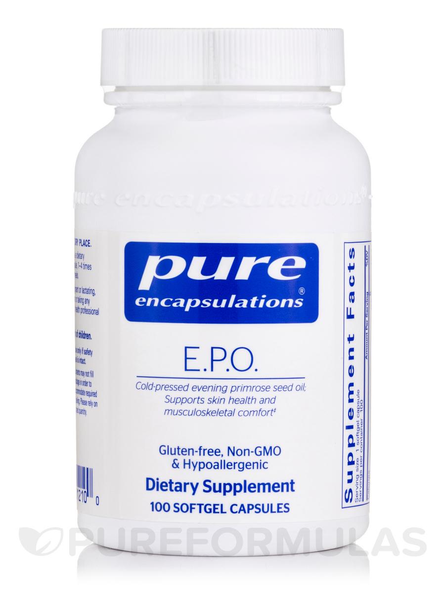 E.P.O. 500 mg - 100 Softgel Capsules