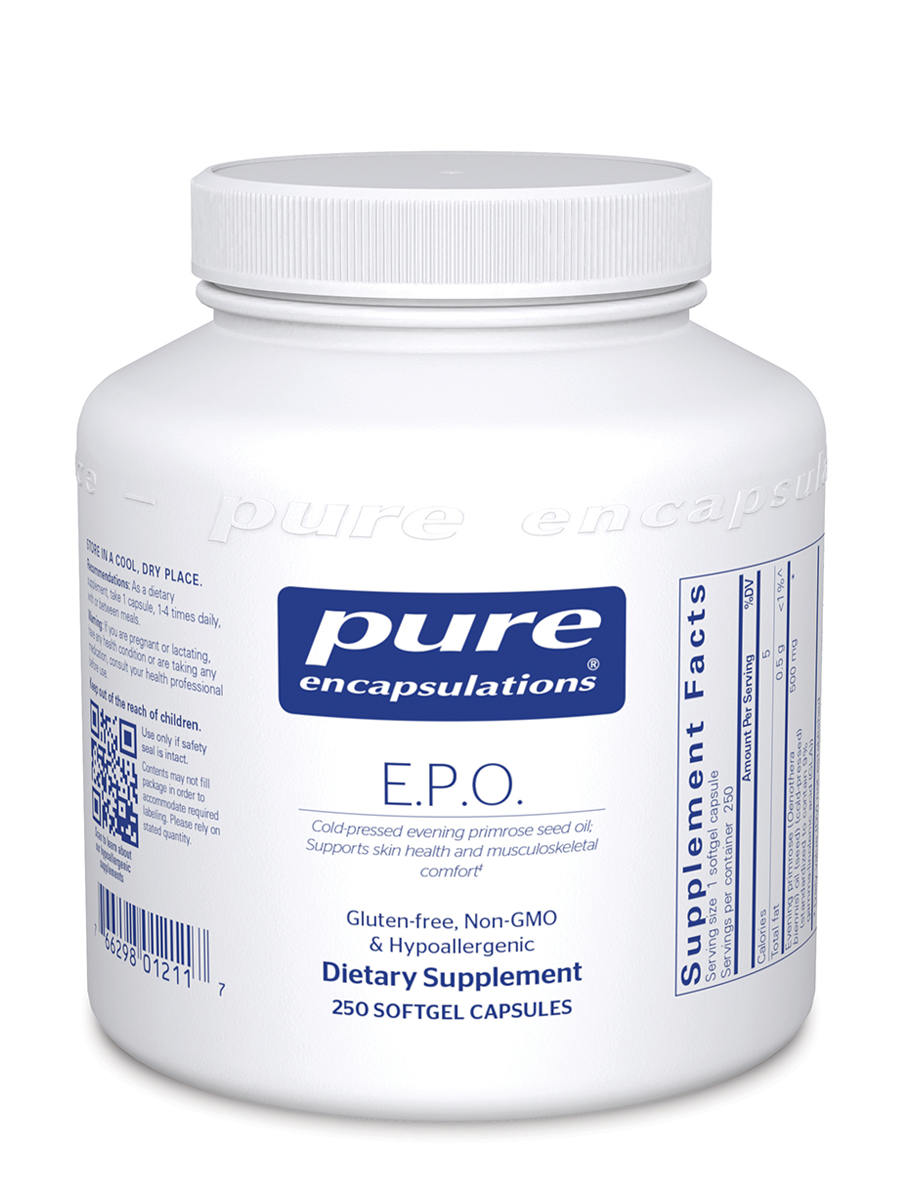 E.P.O. (Evening Primrose Oil) - 250 Softgel Capsules