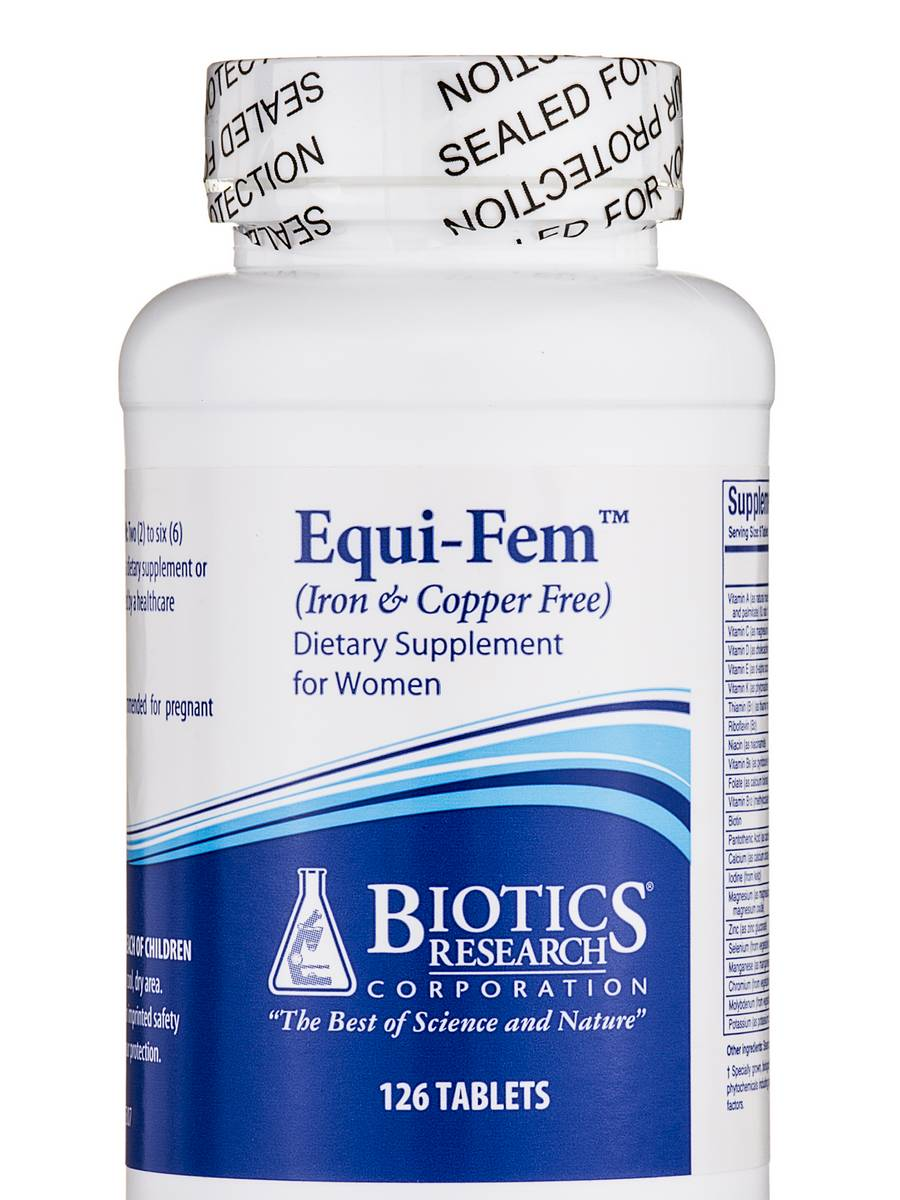 Equi-Fem Iron & Copper Free - 126 Tablets