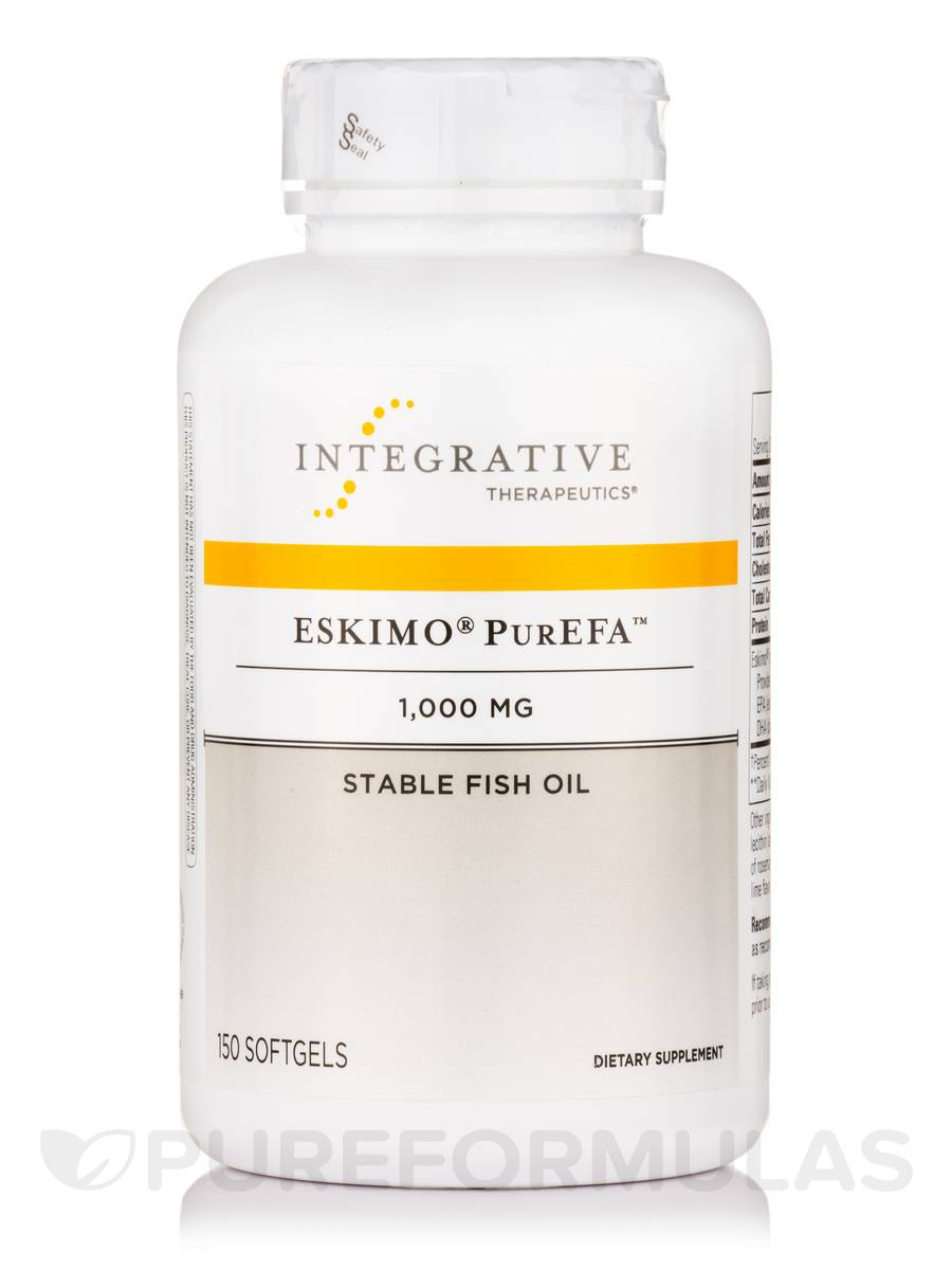 Eskimo PurEFA Fish Oil 1000 mg - 150 Softgels