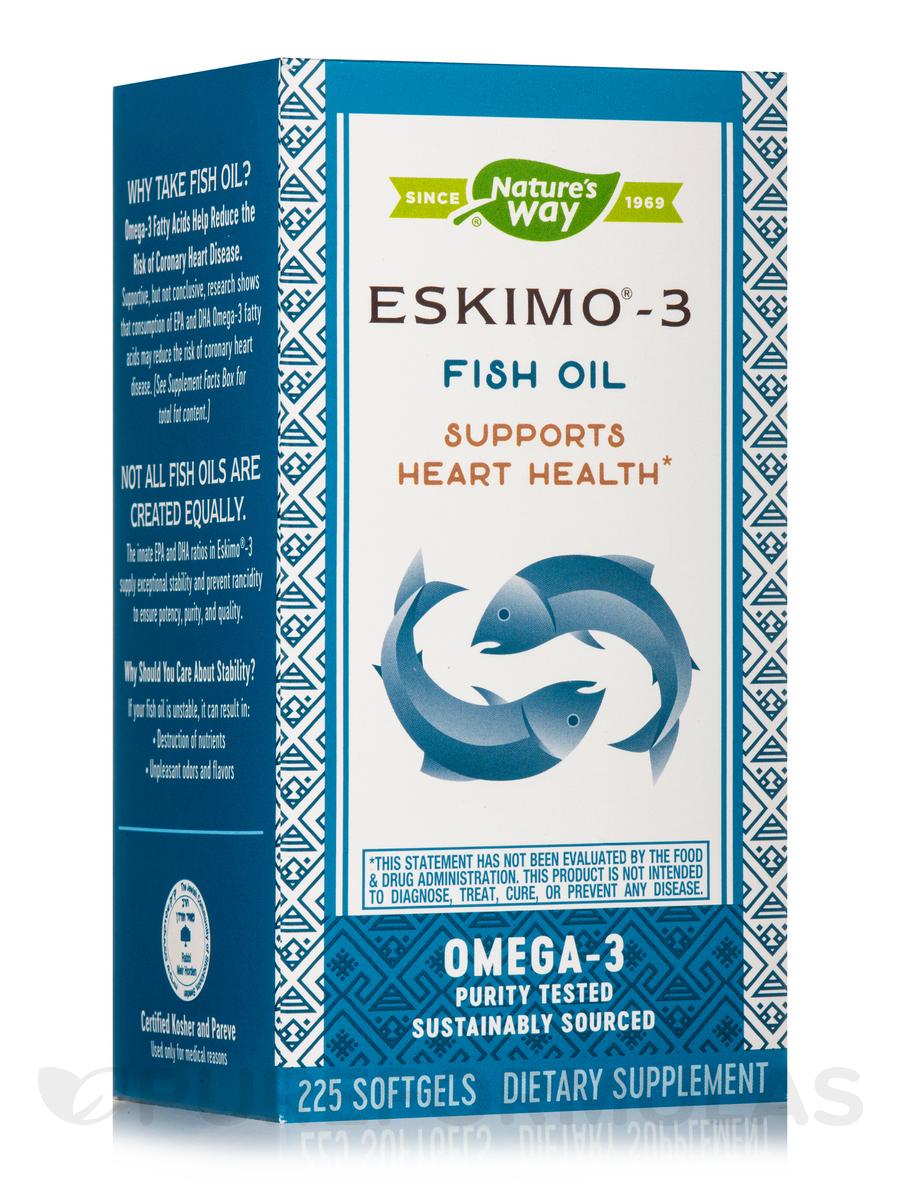 Eskimo®-3 Fish Oil - 225 Softgels