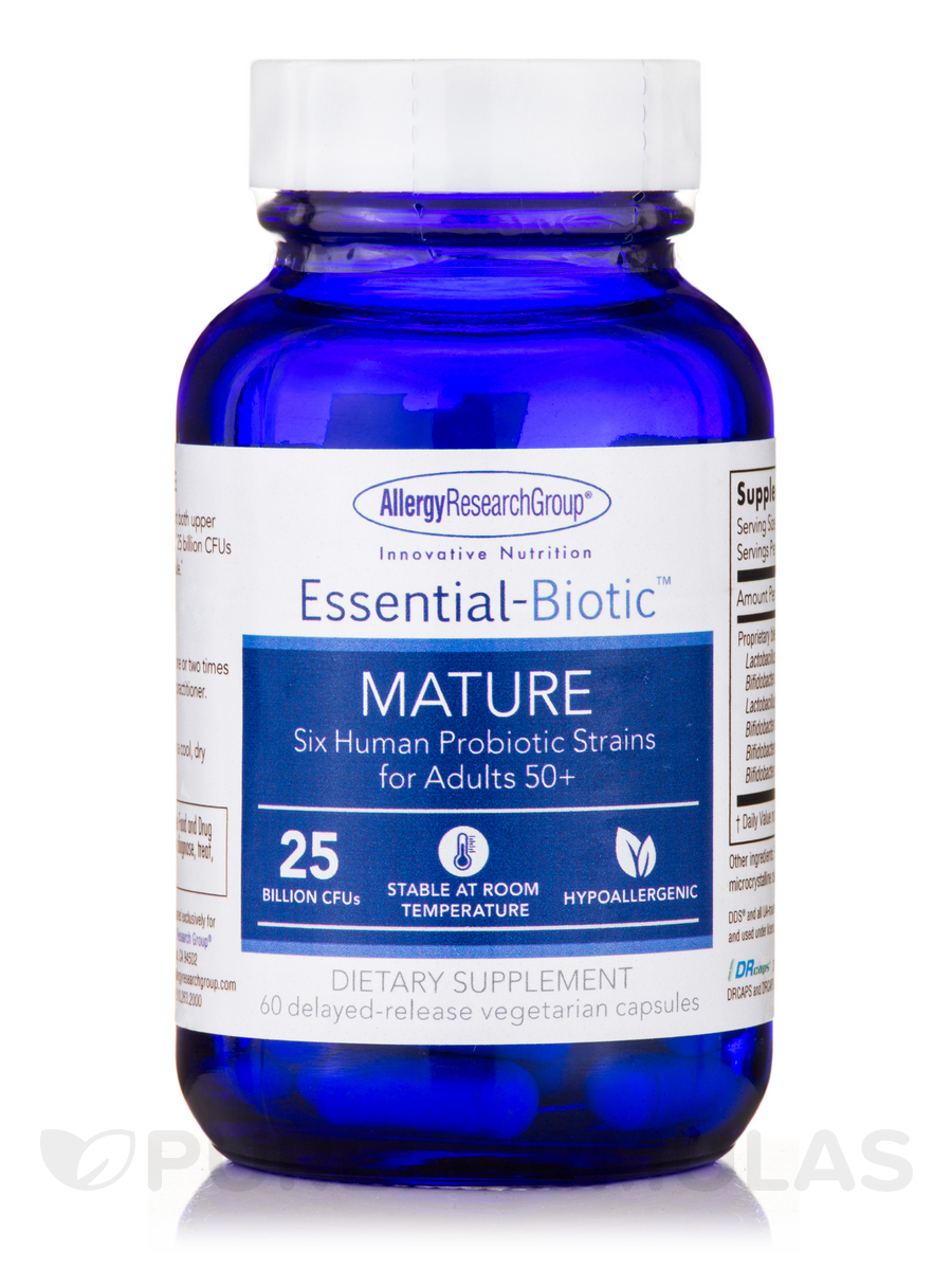 Essential-Biotic™ MATURE - 60 Delayed-Release Vegetarian Capsules