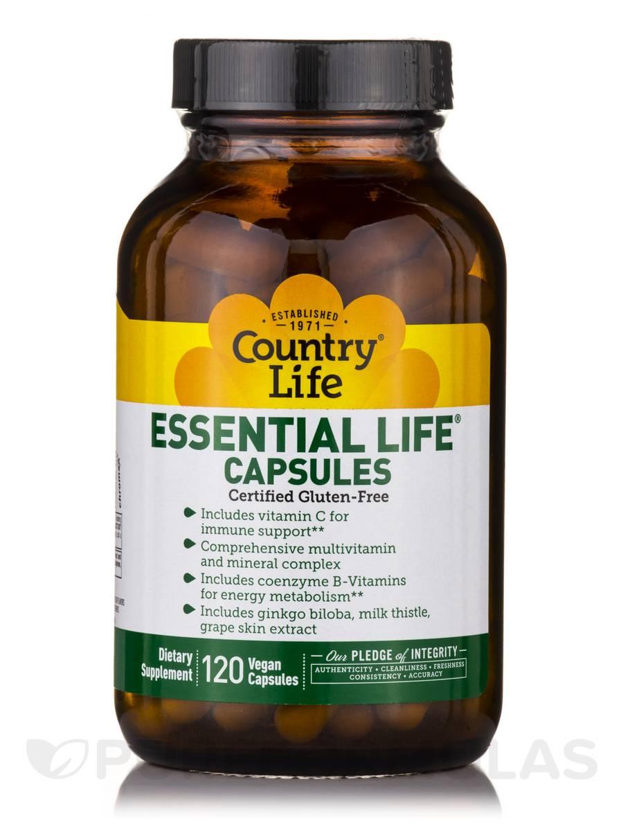 Essential Life - 120 Vegan Capsules