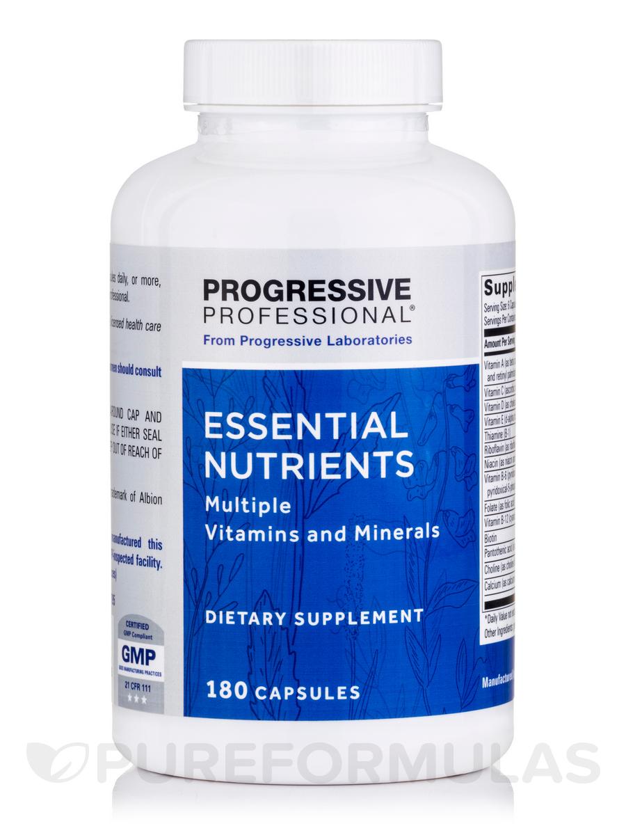 Essential Nutrients - 180 Capsules