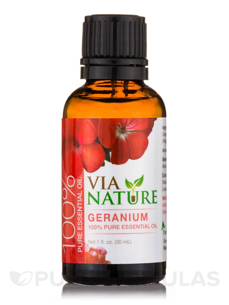 Essential Oil Geranium - 1 fl. oz (30 ml)