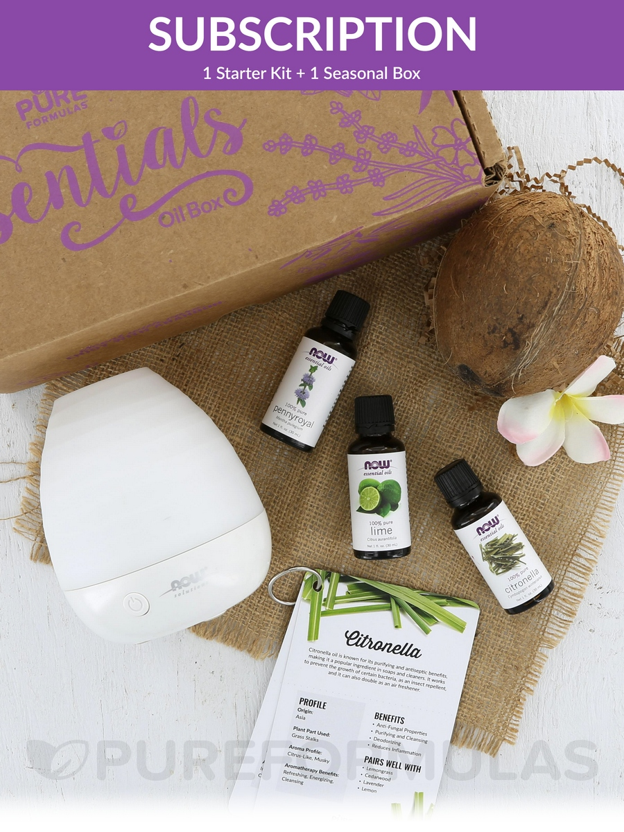 Essentials Oil Box- Seasonal Subscription New